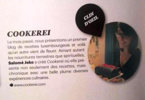 Paperjam parle de Cookerei - 03.04.13