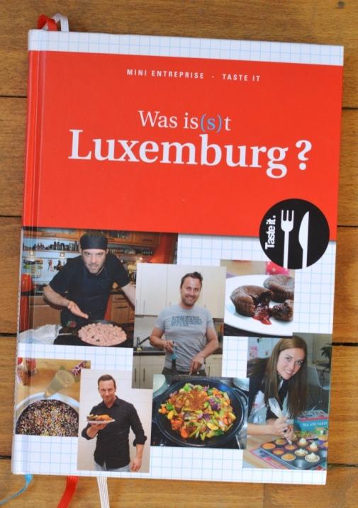 J'ai collaboré au livre de cuisine Was is(s)t Luxemburg?