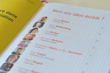 Le livre regroupe les recettes d'enfance de certaines personnalités du Luxembourg, plus ou moins connues.