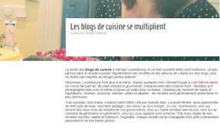 explorator.lu parle de Cookerei - 26.02.13 http://www.explorator.lu/actualites/105-Les_blogs_de_cuisine_se_multiplient