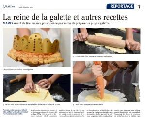 Le Quotidien publie la recette de ma galette des Rois. À lire sur : La galette des Rois dans Le Quotidien