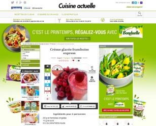 Cuisine Actuelle publie ma recette de la crème glacée express aux framboises sur http://www.cuisineactuelle.fr/recettes-de-cuisine/recettes-de-saison/printemps/creme-glacee-framboise-express