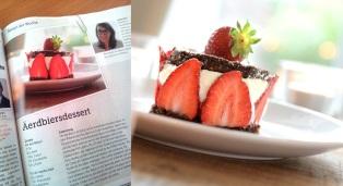 La Revue publie la recette de mon fraisier - 04.07.13
