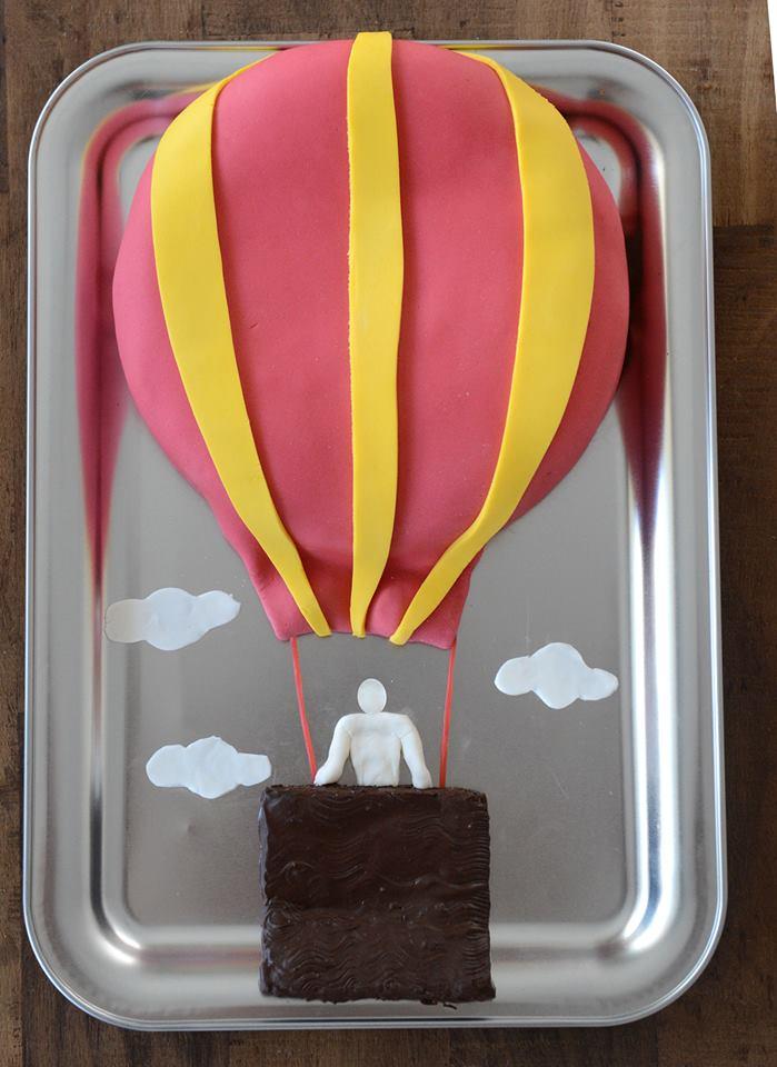 gateau montgolfiere