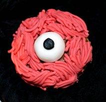 Halloween cupcakes monstres