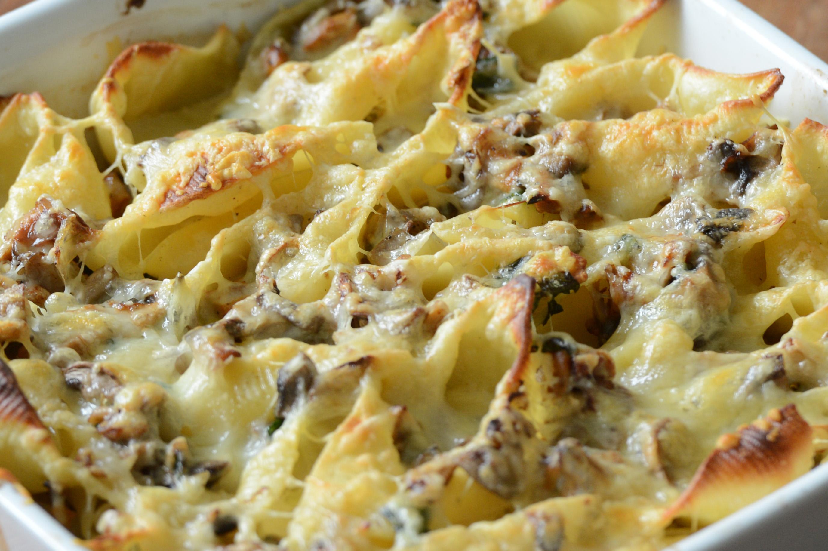Conchiglionis aux champignons des bois cookerei by salom - Cuisiner champignons de paris frais a la poele ...
