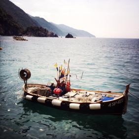 Bateau des pêcheurs d'anchois