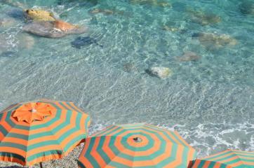L'eau cristalline de la Méditerranée, à Monterosso