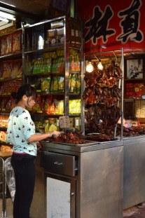 Dans les rues de Chinatown