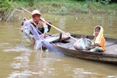 Les pêcheurs du Tonlé Sap
