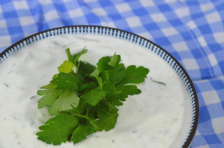 Sauce grecque 1