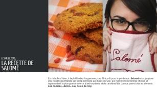 explorator.lu publie ma recettes de cookies detox - http://www.explorator.lu/actualites/La-recette-de-Salome_458