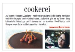 Présentation de Cookerei dans le Luxemburger Wort, dans le cadre des Kachen Blog Awards