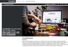 Présentation de différents blogs du Luxembourg, consacrés aux bonnes adresses food et aux recettes, parmi lesquel Cookerei.