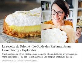 explorator.lu publie ma recette de Key Lime Pie sur http://www.explorator.lu/news/recettes/la-recette-de-salome