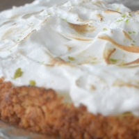 Key lime pie comme en Floride