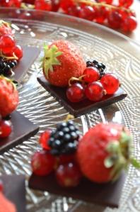 Mignardises chocolat noir