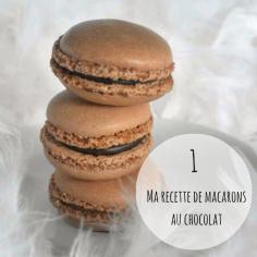 #RECETTE Pour débuter ce calendrier de l'Avent, il fallait forcément... du chocolat :-) Et quoi de mieux qu'un macaron tout choco pour cela? Retrouvez ma recette sur https://cookerei.com/2013/02/26/macarons/