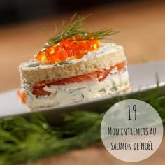 """#RECETTE Besoin d'une idée d'entrée de Noël """"vite faite, bien faite""""? Essayez cet entremets au saumon dont la recette est sur mon blog: http://bit.ly/2hAa57g"""
