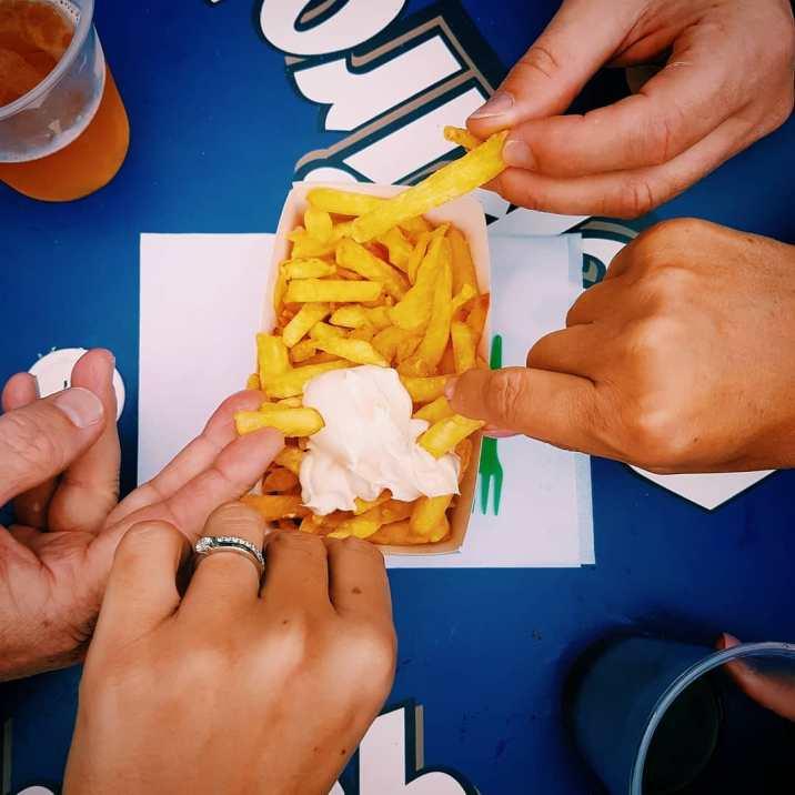 Les frites de chez Joslet, les meilleures !
