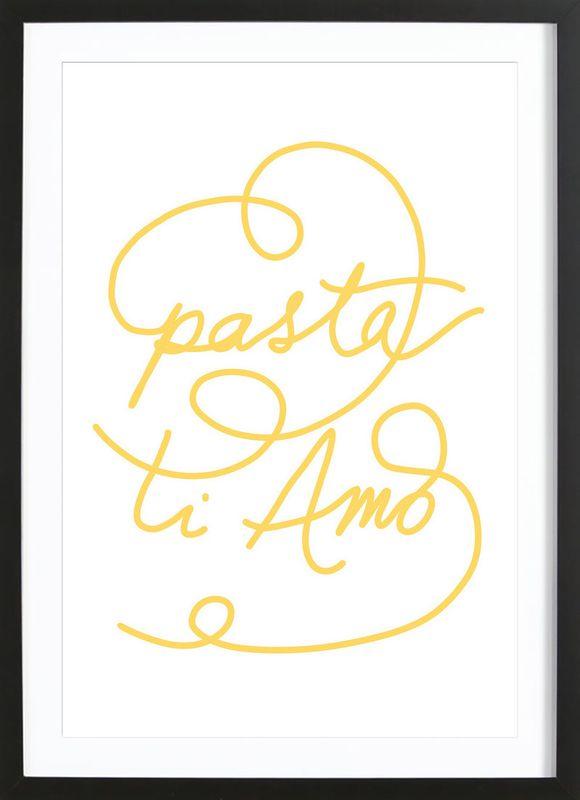 Affiche murale Pasta ti amo