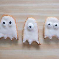 Sablés fantômes d'Halloween