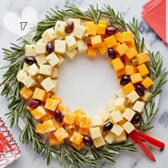 Le plateau de fromages version Noël