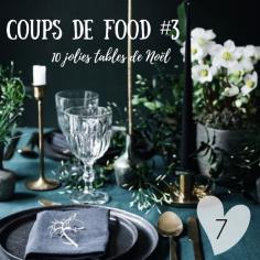 COUPS de FOOD pour 10 jolies tables de Noël dénichées sur Pinterest : https://wp.me/p3boaA-2hW